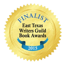 graphic of East Texas Writers Guild 2015 writing contest first place badge